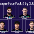 J.League Face Pack 2 by X.Kano
