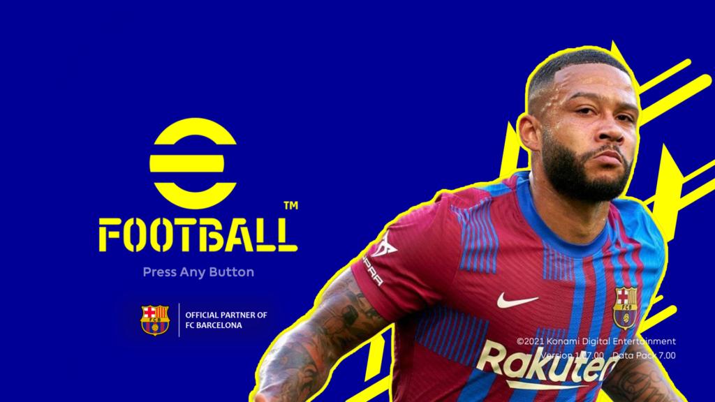 eFootball2022 for PES2021 Menu3